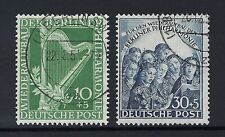BERLIN 1950 ORCHESTRA SET Nº 58/59 USED