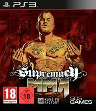 PS3 Game Supremacy MMA Mixed Martial Arts NEW