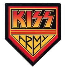 KISS ARMY logo STICKER - rock band decal *free shipping*