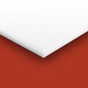 Teflon Ptfe Virgin Plastic Sheet  You Pick The Size Thickness 1.5mm 3mm 4mm 5mm