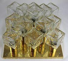 XXL Kalmar ice cube Lampe - Deckenlampe - Leuchte - Vintage - Eiswürfel 60er