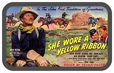 John Wayne movie poster repro  Novelty  Metal wall sign