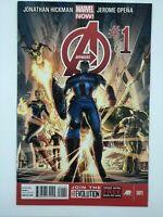 Avengers #1 2013 MARVEL Jonathan Hickman  MODERN AGE COMIC BOOK