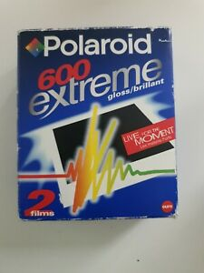 Polaroid Instant 600 Extreme gloss Color Film - 2 pack / 20 photos -