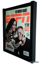 Lot of 3 Espn or Older Rolling Stone Magazine Display Frames by GameDay Display