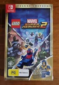 Lego Marvel Super Heroes 2 Deluxe Edition. Sealed, Aus coded For Nintendo Switch