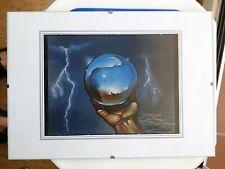 Magic The Gathering - Icy Manipulator - Signed by Artist Doug Shuler
