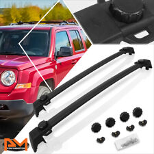 For 11-16 Jeep Compass Aluminum OE Style Roof Rack Top Crossbar Luggage Bag Rail