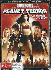 Planet Terror - Horror / Action - Rose McGowan, Bruce Willis - 1 Disc NEW DVD