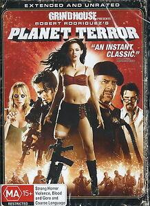Planet Terror - Horror / Action - Rose McGowan, Bruce Willis - 1 Disc NEW DVD