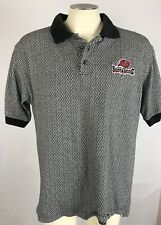 Vintage 90s Lee Sport Tampa Bay Buccaneers Embroidered Polo Shirt L Large
