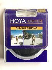 HOYA Circular Polarizing Filter - 58mm Pitch 0.75 - Eliminate reflections etc.