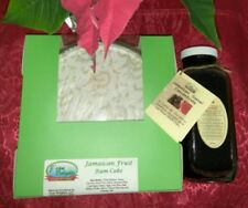 "Jamaican Rum Fruit CAKE 6""/32oz and SORREL Concentrate - 16fl.oz."