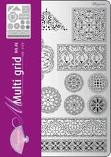 Pergamano Multi Grille Nº 48 perforation Parchemin Floral Ornaments 2 31478