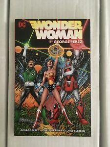 DC TPB Paperback Wonder Woman George Perez Book Vol. 3 Three 1984 WW84 Cheetah 7