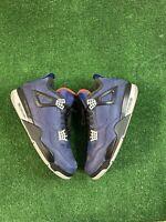 Air Jordan 4 Retro 'Winterized' Loyal Blue Sneakers CQ9597-401 Men's Size 13