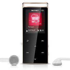 Lettore MP3 da 8 GB Metallizzato con Pulsanti Touch, Radio + Fascia Braccio