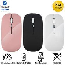Wireless USB Maus PC Kabellose Mouse Computer Laptop Notebook Funkmaus flach NEU