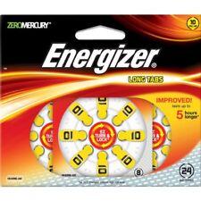Energizer Genuine EZ Turn & Lock Hearing Aid Size 10 Batteries 24-pack