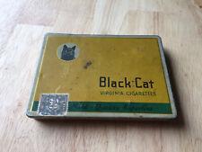 Vintage Black Cat Virginia Cigarettes  Tin