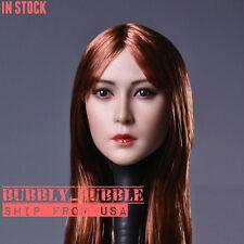 1/6 Asian Female Beauty Head Sculpt B For Hot Toys Phicen Kumik SHIP FROM USA