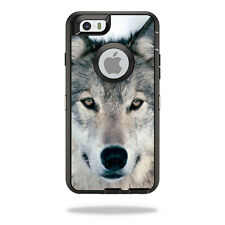 Skin Decal Wrap for OtterBox Defender iPhone 6/6S Case Wolf
