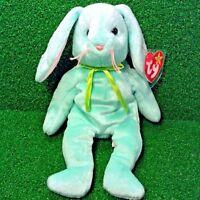Very Rare 1996 PE Ty Beanie Baby Hippity Rabbit ORIGIINAL & SUFACE Errors MWMT
