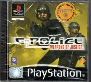 G-POLICE: WEAPONS OF JUSTICE - SONY PLAYSTATION 1 NUOVO SIGILLATO PERFETTO PAL