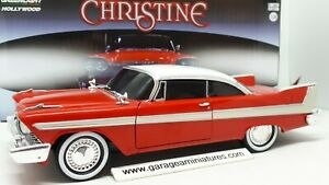 PLYMOUTH,FURY,1958,GREENLIGHT,AU,1/24,FILM,CHRISTINE,1983,collection,