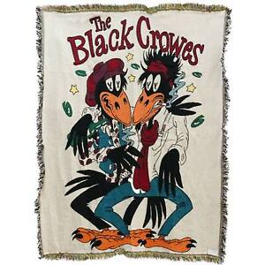 Black Crowes Throw Blanket