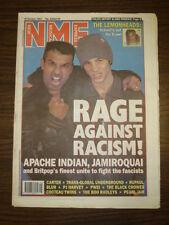 NME 1993 OCT 16 JAMIROQUAI APACHE INDIAN PEARL JAM BLUR