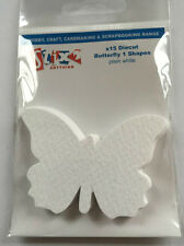 Stix2  Pack Of 15 Die Cut Butterfly Shapes Available In Pink White Cream & Lilac