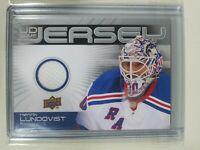 2010-11 Upper Deck Series 1 Henrik Lundqvist UD Game Jersey New York Rangers