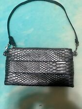 Devi Kroell By Target clutch satchel small in size embossed Snakesking