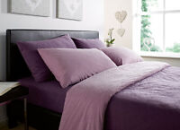 Luxurious Thermal Micro Fleece 1 Pair (2) Pillowcases Pillow Cases. 4 Colours.