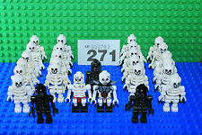 LEGO Skeleton x 1 Mini Figure Random Black / White PARTY BAG Castle Pirates