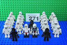 LEGO Skeleton x 1 Mini Figure Random Black / White PARTY BAG Castle Pirates