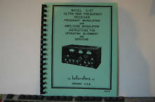 Owner & Service Manual Hallicrafters S-27 Receiver S27
