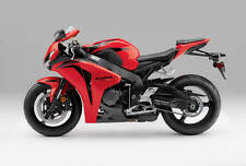 Honda 2 Color Touch Up Kit De Pintura Cbr1000rr 07-08 ganador Rojo Y Grafito Negro