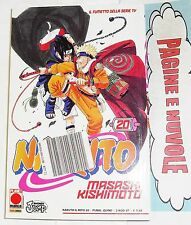 m. kishimoto - NARUTO IL MITO n.20 - 1° EDIZIONE! - NUOVO! planet manga (rosso)