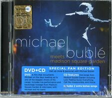 BUBLE MICHAEL - MEETS MADISON SQUARE GARDEN - DVD + CD NUOVO