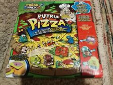 The Trash Pack - Putrid Pizza Game Complete plus extra Trashies Figures FAB TOY