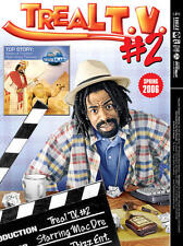 Mac Dre - Treal T.V. #2 COLOR POSTER NEW + temporary tattoo, Thizz legend