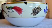 Lynn Chase EXOTICA Serving Bowl - 24K Burmished Gold Rim 2006