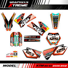 Graphic Adhesive Kit for KTM SX 85 SX85 2006 2007 2008 2009-2012 Decals Personal