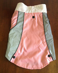 NEW TOP PAW Dog Winter EXTRA SMALL 3 in 1 Reflective Peach Jacket Coat - SALE