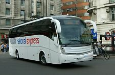 National Express liveried FJ11GKD MD4 Travel de Courcey 6x4 Quality Bus Photo