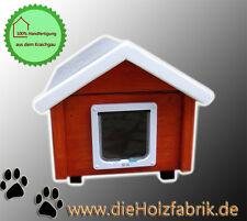 Outdoor Katzenhaus wetterfest mit Katzenklappe - GS2-J