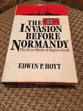 The Invasion Before Normandy Secret Battle Slapton Sands World War 2 WW2 HC Book