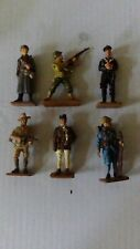 Toy Soldiers 1/32 scale Del Prado WW2 WWII French American Russian